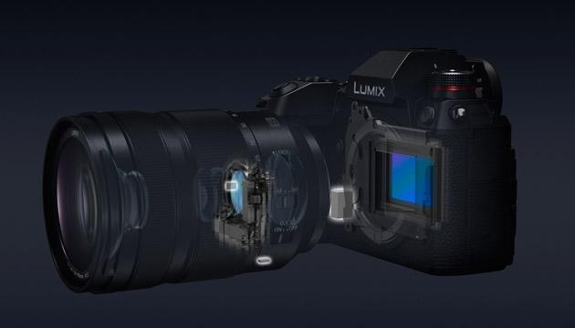 Lumix S double stabilisation avec l'optique