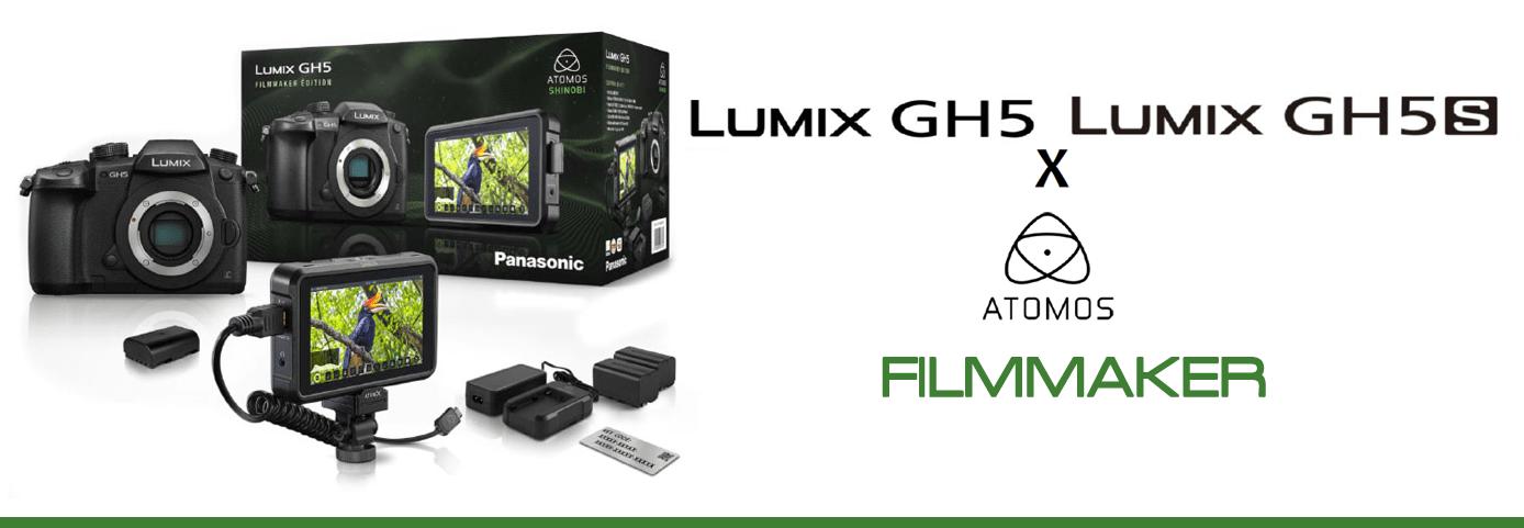 Lumix GH5 & GH5S Filmmaker Editions
