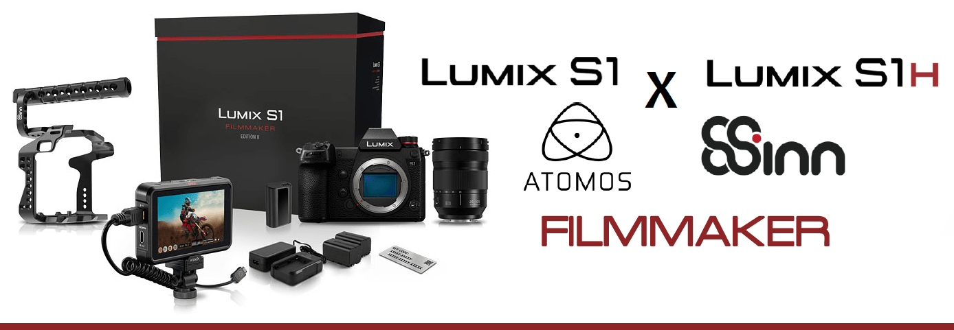 Lumix S1 & S1H Filmmaker Editions