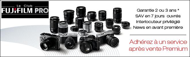 Enregistrer un produit Fujifilm X premium