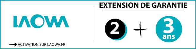 Extension de la garantie à 5 ans pour les objectifs Laowa après enregistrement