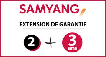 Extension de la garantie à 5 ans pour les objectifs Samyang après enregistrement