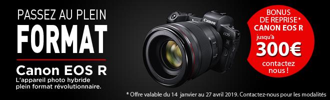 Bonus de reprise Canon EOS R