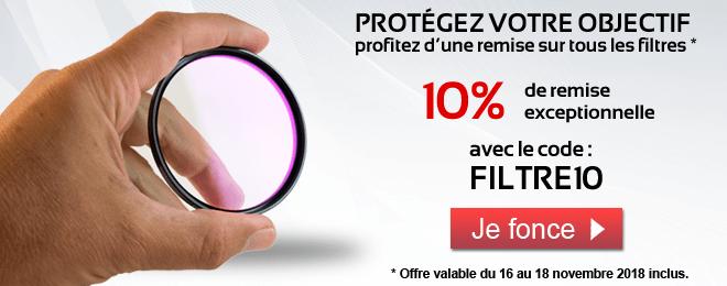 -10% sur tous les filtres : code FILTRE10
