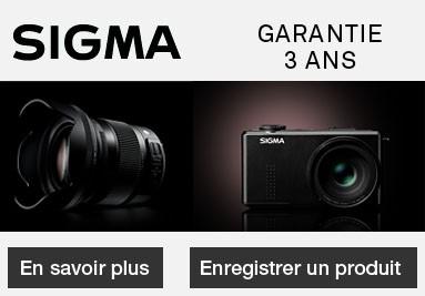 Garantie 3 ans Sigma