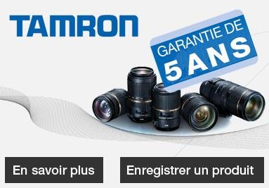 Garantie 5 ans Tamron