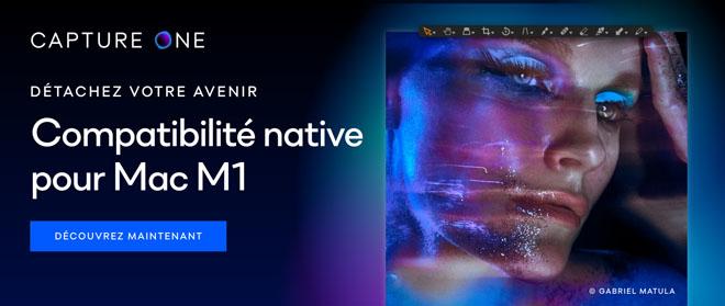 Découvrez maintenant la mise à jour Capture One pour une compatibilité native avec Mac M1